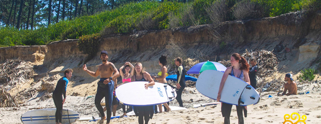 Surfers Camp Esmoriz Porto Portugal - The Team slideshow photo